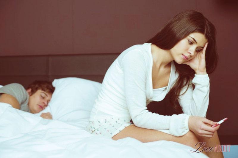 Как мужчине понять что девушка беременна? 13-2