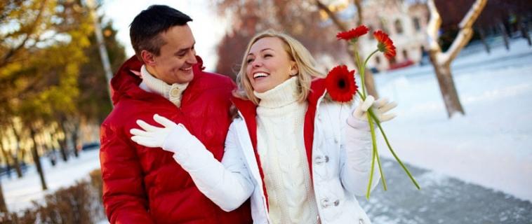 Куда пригласить девушку на первое свидание зимой?