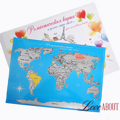 Романтическая карта со стиральным скретч-слоем