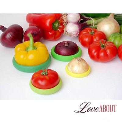 Силиконовые крышки с овощами