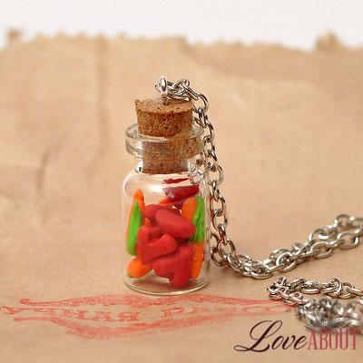 Кулончик с цепью «Любовь-морковь»