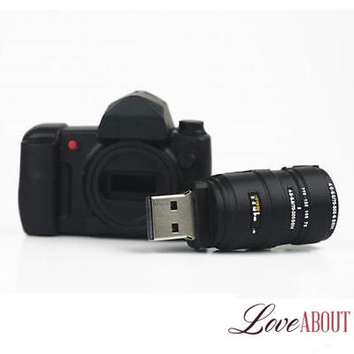 Флешка в виде фотоаппарата на 8 Гб