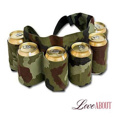 Камуфляжный пояс для пива