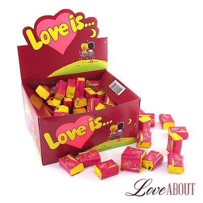 Жвачка «Love is…» (вишня-лимон)