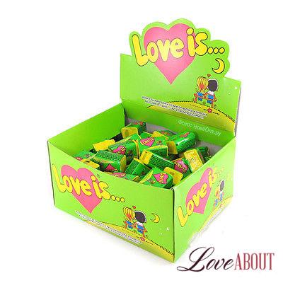 Жвачка «Love is…» (яблоко-лимон)