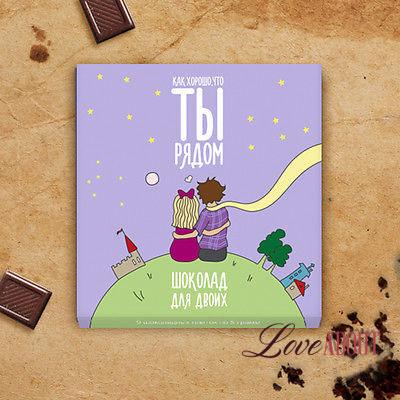 Набор шоколадных конфет «Как хорошо»