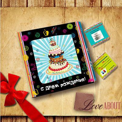 Набор шоколадных конфет на день рождения