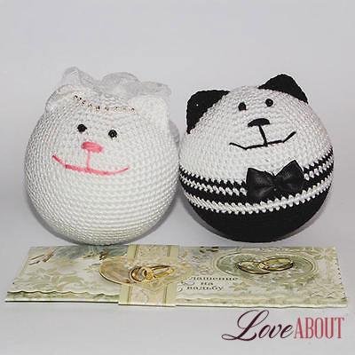 2 игрушки Кошарики на свадьбу
