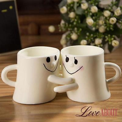 Белые кружки «Влюбленная парочка»