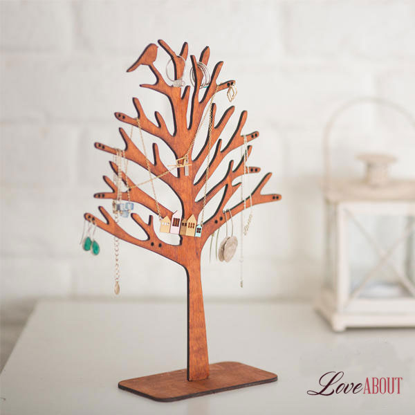 Подставка для украшений в виде дерева